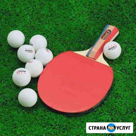 Тренер по настольному теннису Краснодар