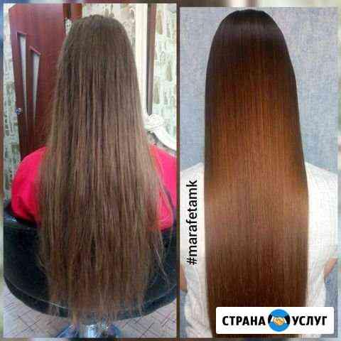 Наращивание, выпрямление и восстановление волос Амурск