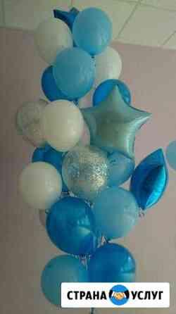 Гелиевые шары различных рисунков, цветы из шаров Саранск