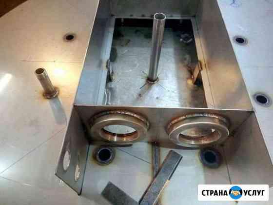 Изготовление и ремонт емкостного оборудования Новосибирск