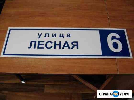 Табличка на дом Гагарин