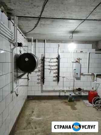Установка котлов отопления, систем отопления Красноярск