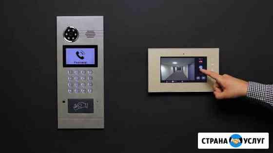 Установка домофонов, систем газовой безопасности Орёл