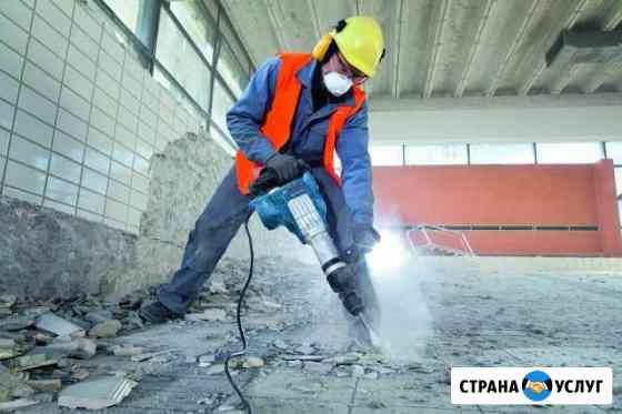 Демонтажные работы, снос дома, демонтаж стен Ярославль