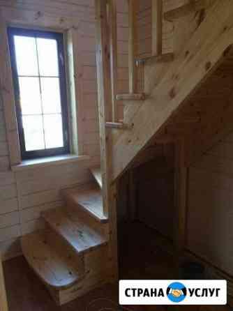 Деревянные лестницы Жуков