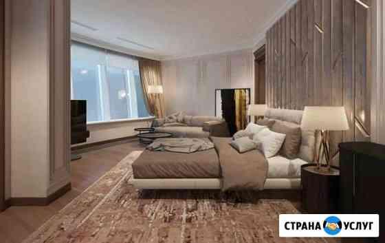 Ремонт и отделка помещений, дизайн-проект квартир Омск
