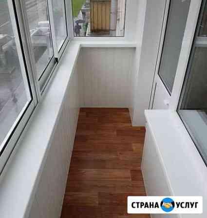 Остекление балконов, Отделка балконов Вологда