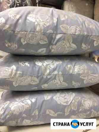 Чистка пухо-перовых подушек Санкт-Петербург