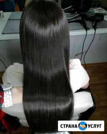 Кератиновое выпрямление, ботокс волос, Нанопластик Верхняя Пышма