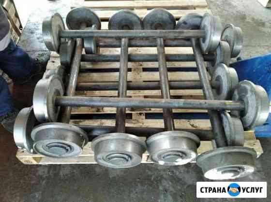 Колеса для вагонеток (колёсные пары 230 мм) Нижний Новгород