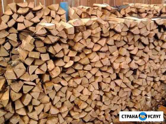 Дрова колотые берёзовый Пермь