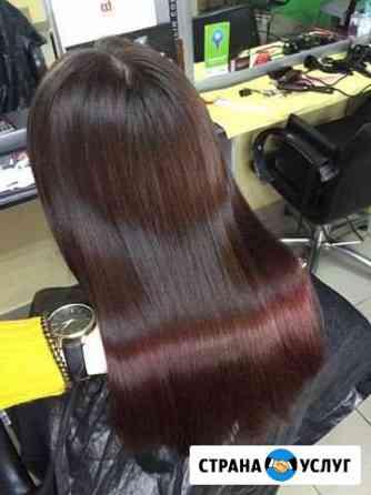 Кератиновое выпрямление Ботокс волос Миасс