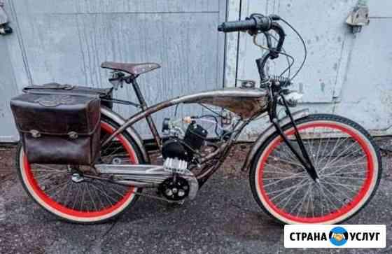Изготовление кастомных велосипедов и мотоциклов Санкт-Петербург