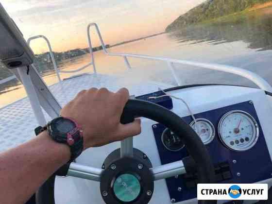 Прогулки на катере Дзержинск