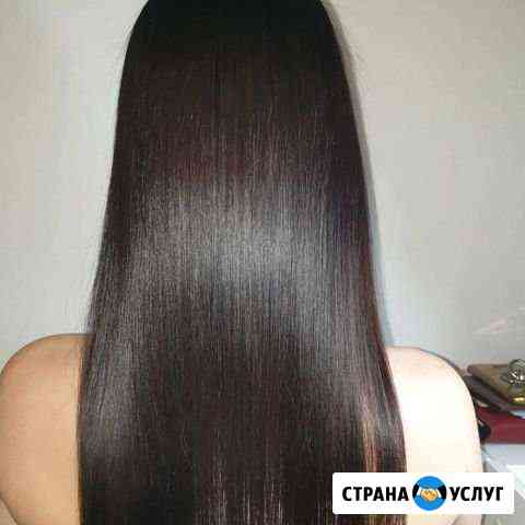 Ботекс увлажнение волос.Кератиновое выпрямление Екатеринбург