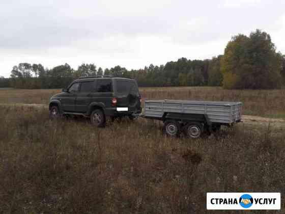 Грузоперевозки на легковом автомобиле с прицепом Клинцы