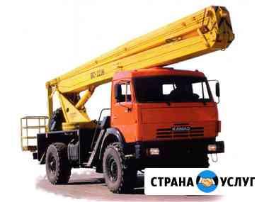 Аренда автовышки КАМАЗ 22 м Владимир