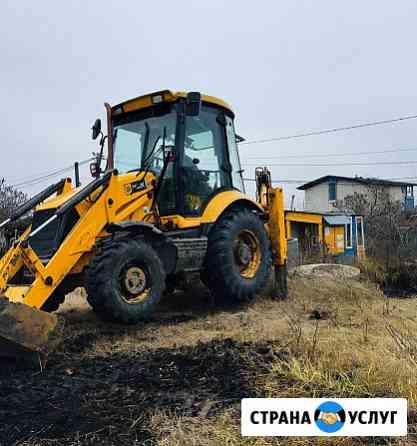 Аренда Услуги экскаватора погрузчика Ульяновск
