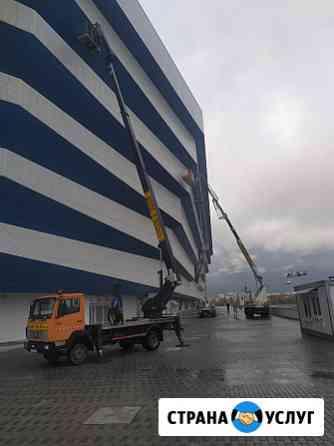 Услуги, аренда авто вышек от 20 до 46 метров Калининград