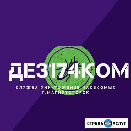 ДЕЗ174КОМ - служба дезинсекции Магнитогорск