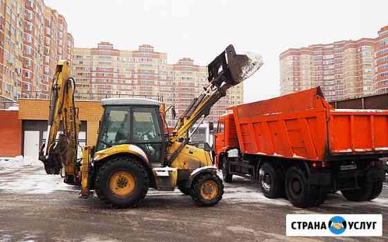 Вывоз и уборка снега — Щелково Щёлково
