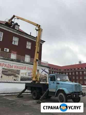 Аренда автовышки Калининград