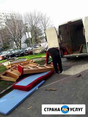 Вывоз мусора. Вывоз мебели. Вывоз хлама Волгоград