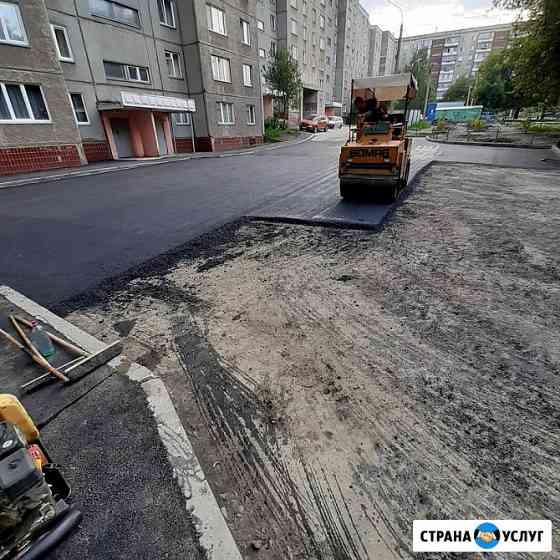 Благоустройства территории Челябинск