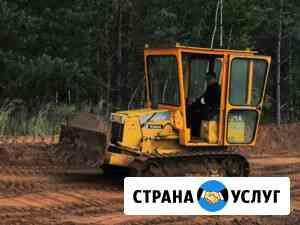 Услуги мини-бульдозера Komatsu Ижевск