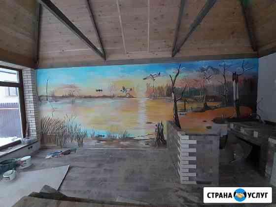 Выполняю роспись на стенах в Волгограде Волгоград