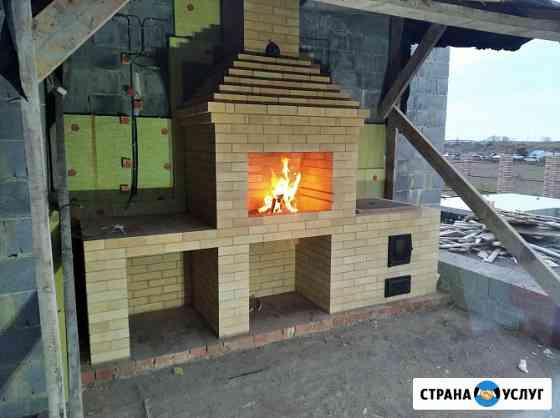 Кладка печей, каминов, барбекю Екатеринбург