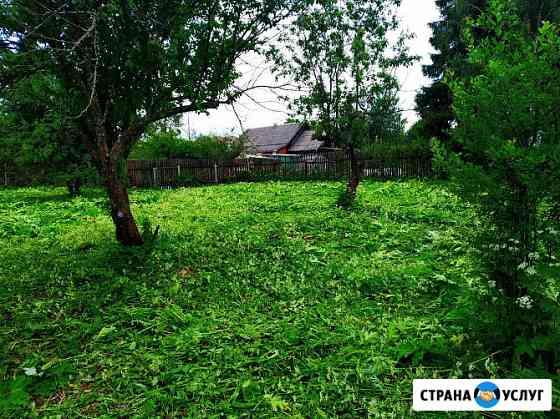 Покос травы Ярославль