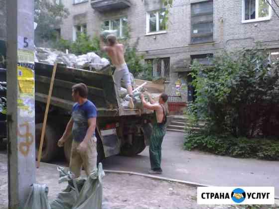Вывоз строительного мусора. Вывоз старой мебели. Вывоз спиленных деревьев, хлама Новороссийск