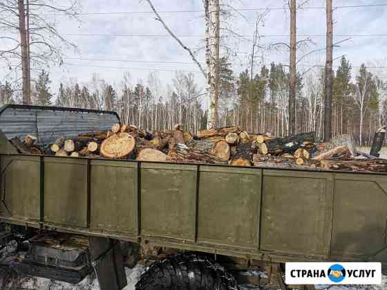 Доставка дров Ангарск