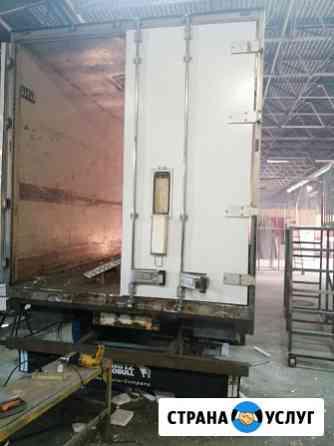 Ремонт фургонов, замена настила пола и ворот Саратов