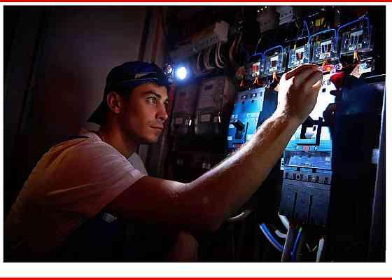 Электрик Пенза, услуги электрика недорого, срочный выезд Пенза